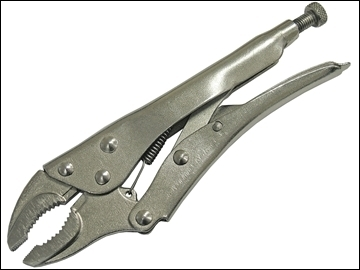LOCKING PLIERS - CURVED JAW