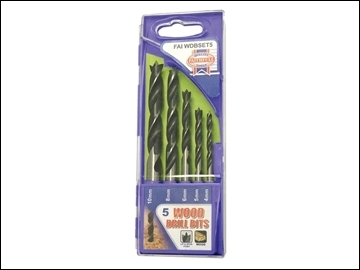 LIP & SPUR BIT SET (5 PIECE) 4-10mm