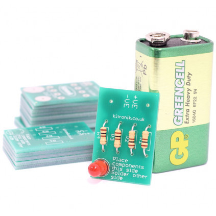 Learning to Solder LED Kit (Pack 25)