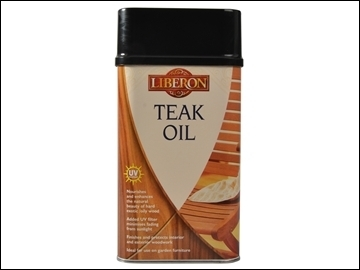 1L TEAK OIL with UV
